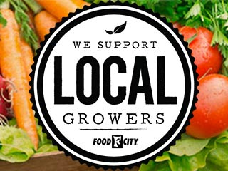 At Food City, we purchase produce from local farmers when possible so you get the freshest and most nutritious food for your family's table. Find your favorite locally grown produce at the nearest Food City grocery store.