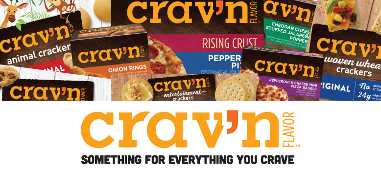 Crav'n Flavor brand, available at your local Food City grocery store, satisfies your latest craving for something hearty, savory and delicious.