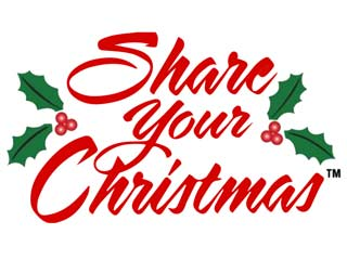 Share Your Christmas has benefitted local hunger relief programs throughout the region for 36 years.