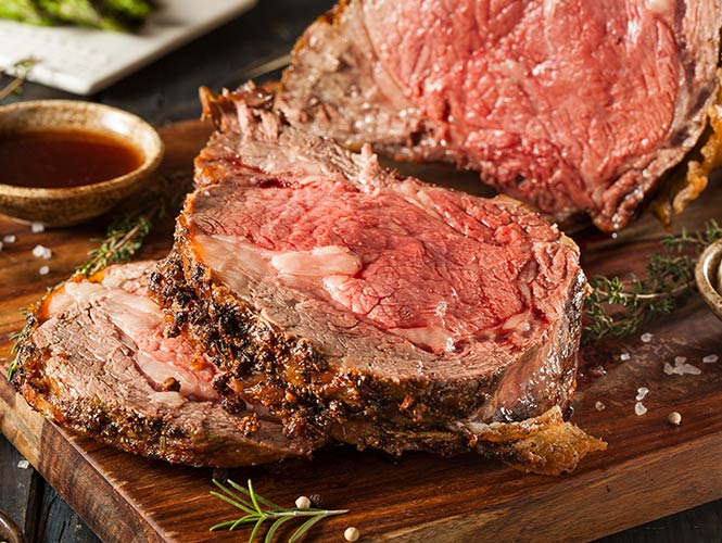 Try our new Prime Rib dinner this year fresh from the Food City Deli. None of the work with all of the accolades.