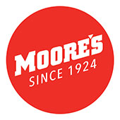 Thumbs up taste...Moore's has been great snacking since 1924.  The Moore's motto is to make snacks the whole gang will love, at a fair price.