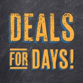 At Food City we have deals for days! If you thought our regular every day low prices were amazing, come in and check out what deals we have for you this weekend.