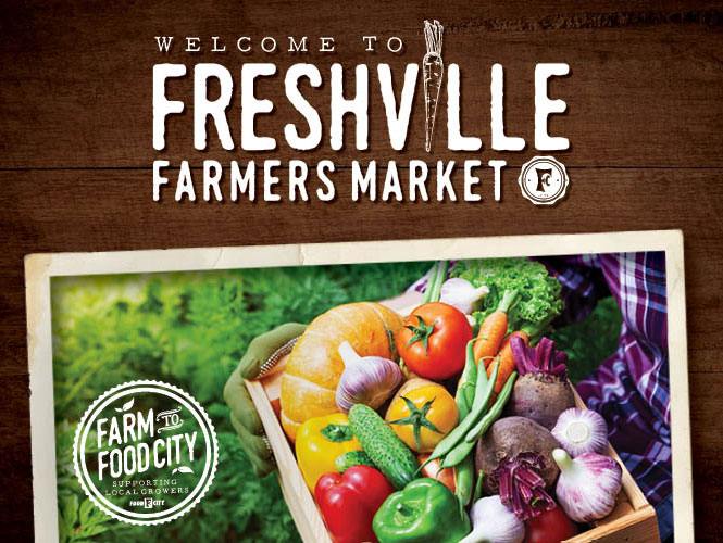 Freshville Farmers Market is coming to a store near you! Make plans to visit us this Friday & Saturday this July at your local neighborhood Food City.