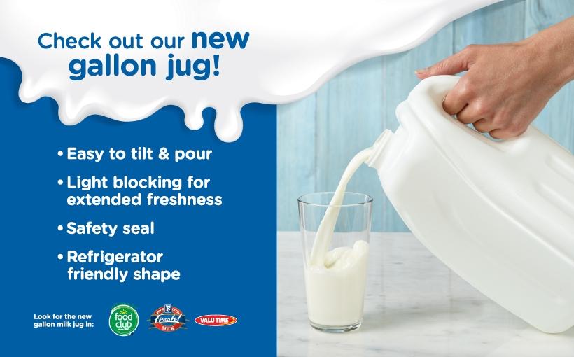 New Milk Jug