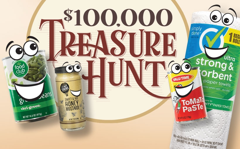 $100,000 Treasure Hunt