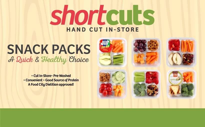 ShortCuts Snack Packs