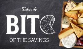 Take a bite of savings