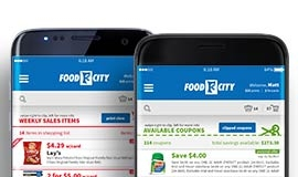 NEW Food City Mobile App