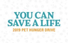 2019 Pet Hunger Drive